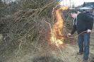 Osterfeuer der Jungschützen